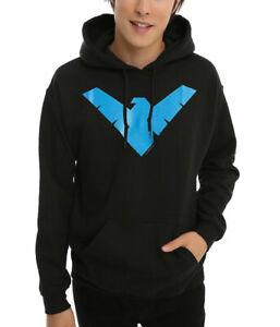 Nightwing Symbol Logo Hoodie