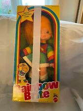 "1983 Mattel Rainbow Brite Doll-18""-  NRFB- Original Clothes & Box- MINT & CUTE"
