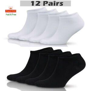 Mens Womens Trainer Liner Ankle Socks Invisible Cotton Low Cut Sports Socks lot