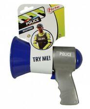 Toi-Toys mégaphone police bleu 14 cm