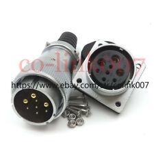 WS32 8pin(5+3) Power Connector, Aviation Bulkhead Plug Socket LED Plug
