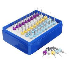 50 Micro punte 0.5-0.6-0.7-0.8-0.9mm Tungsten Micro Drill Bits PCB Circuit board