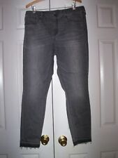 Womens Mossimo Java Black Mid Rise Skinny Jeans (Size 10)