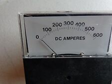 YEW DC AMPERS 0-600 251200MTMT DC AMP 0-LEFT RTG -0-10A  PANEL METER