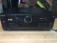 Panasonic SA HE100 6.1 Channel 600 Watt Receiver amp amplifier tested Works