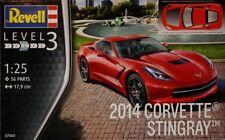 KIT REVELL 1:25 AUTO CORVETTE STINGRAY 2014 LUNGHEZZA 17,9 CM    ART 07060
