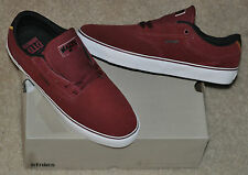 Etnies Malto LS Burgundy Suede Skate Shoes / Sneakers Sz 11 Brand New with Box