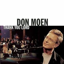Moen, Don Thank You Lord CD
