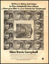 1970 vintage ad for Glen Campbell Recordings -33