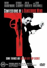 Confessions Of A Dangerous Mind (DVD, Region 4) George Clooney -Brand New,Sealed