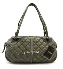 MIMCO REVOLUTION ARMADILLO LEATHER DAY BAG GREY BNWT RRP$399