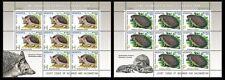 2012 Belarus.  Joint issue. Kazakhstan-Belarus. ANIMALS.Hedgehogs. Sheets/Panes