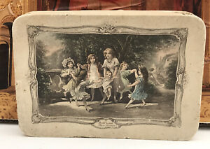 Antique Victorian French Christening Box