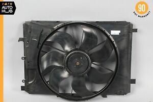 08-18 Mercedes W212 E350 C300 Engine Radiator Cooling Fan Motor Assembly OEM 57k