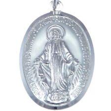 Collares y colgantes de joyería cadenas religiosos de plata de ley