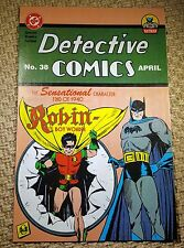 Replica Detective Comics # 38 1939 NM 1st Robin Holy Grail Key HTF Batman NICE