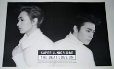 SUPER JUNIOR D&E DONGHAE EUNHYUK  - The Beat Goes On [OFFICIAL POSTER] Type-B