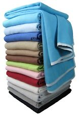 Wohndecke Baumwolldecke Decke 150 x 205cm 100% Baumwolle Kuscheldecke Türkis