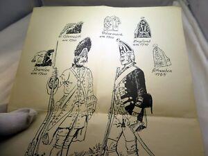 Grenadier Uniformen Katholische und Protestantische 1700 Uniform Spanien England