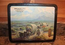 AREND BALSTER'S STORES VINTAGE WAGON TRAIN THERMOMETER SCOTCH GROVE, IOWA