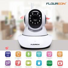 Floureon 720p HD WiFi IP Cámara Wireless CCTV Visión nocturna seguridad PT Cam
