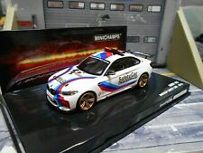 BMW M2 2er Coupe Moto GP Safety Car 2016 Racing NEU Minichamps 1:43