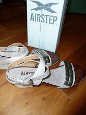 Airstep AS 98 Sandalen Sandalette Echtleder Gr 41 42 beige hell Art193003 lässig