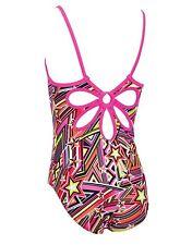 "Zoggs Junior Girls Starburst Yaroomba Floral Swimsuit Age 12 UK 32"""