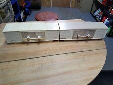2 OLD Vintage Commodore Radios