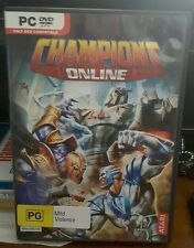 Champions Online -  PC GAME - FREE POST *