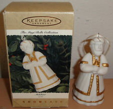 HALLMARK ORNAMENT - Melchior Gold - The Magi Bells Collection - Ceramic Nativity