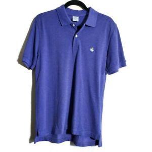 Brooks Brothers Men's Slim-Fit Performance Polo Shirt Blue Slim M Medium