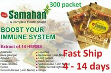 300 SAMAHAN Ayurveda Herbal Tea Natural Drink for Cough & Cold remedy