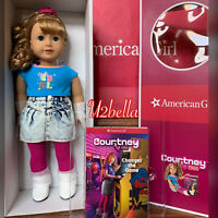 American Girl Courtney Moore Doll New Historical Character 1980's NEW