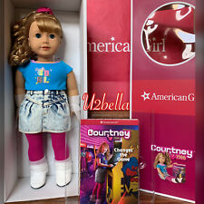 American Girl Courtney Moore Doll & Book New With Bonus Poster