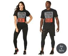 Zumba Fitness STRONG By Zumba Train To The Beat Tee T-Shirt - Bold Black