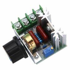 Variateur de vitesse moteur Dimmer AC 220 V 2000 W Regulateur Tension Voltage FR