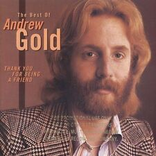 Thank You for Being a Friend: The Best of Andrew Gold by Andrew Gold (CD,...