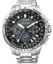 Citizen CC9020-54E GPS F900 Satellite Wave Titanium Mens Watch. Solar Powered.