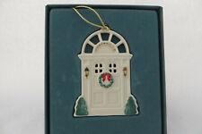 Lenox Holiday Homecomings Door 1990 Ornament - Mib
