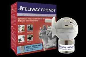 NEW Feliway Friends Diffuser/refill for Multi cat household reduce fighting