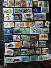 Fish and marine life   stamps