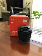 Sony SEL 50mm f/1.8 FE Lens