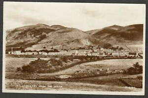 Postcard Tillicoultry nr Alloa Scotland view From the South posted 1959 RP