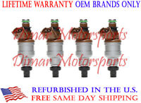 Motor Man INP-482 Reman Nikki Fuel Injector Set 1994-1997 Ford Aspire 1.3L 4