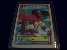 1983 Topps Dexter Manley Rookie Card RC #191