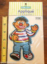 SESAME STREET ERNIE APPLIQUE IRON ON EMBROIDERED MOTIF PATCH NEW NIP 2002 5.75""