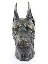 Deutsche Dogge (abgeschnitten), großer Kopf Resin, Art Dog, CH