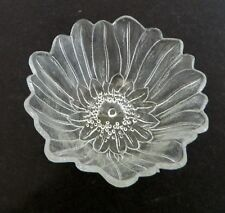 Indiana Glass Lily Pons Crystal Clear Glass Deep Nappy Bowl Vintage