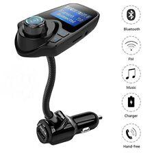 Trasmettitore FM, Bluetooth Wireless Music Radio adattatore per auto, con carica
